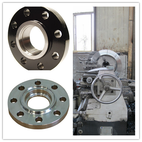 steel flange inspection