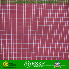 Karierte Polyestergewebe mit Garn gefärbt für Kleidung