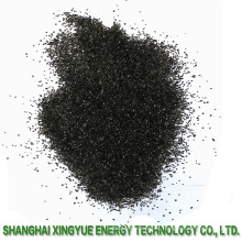 recuperación de oro por carbón activado de granulado de cáscara de coco
