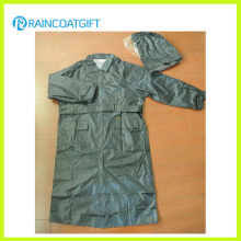 Rvc-169 100% Polyester PU Revêtement Police Raincoat