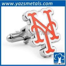 abotoaduras customiz designer, mancuernas feitas sob encomenda de New York Mets