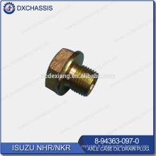 Véritable bouchon de vidange d'huile de boîte d'essieu NHR NKR 8-94363-097-0