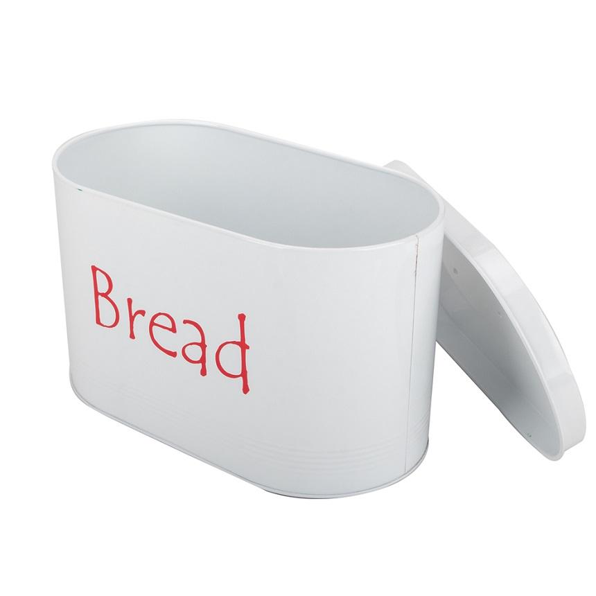 Enamel bread bin storage