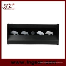 Acero magnético tiro sistema de destino para Airsoft Paintball Metal blanco