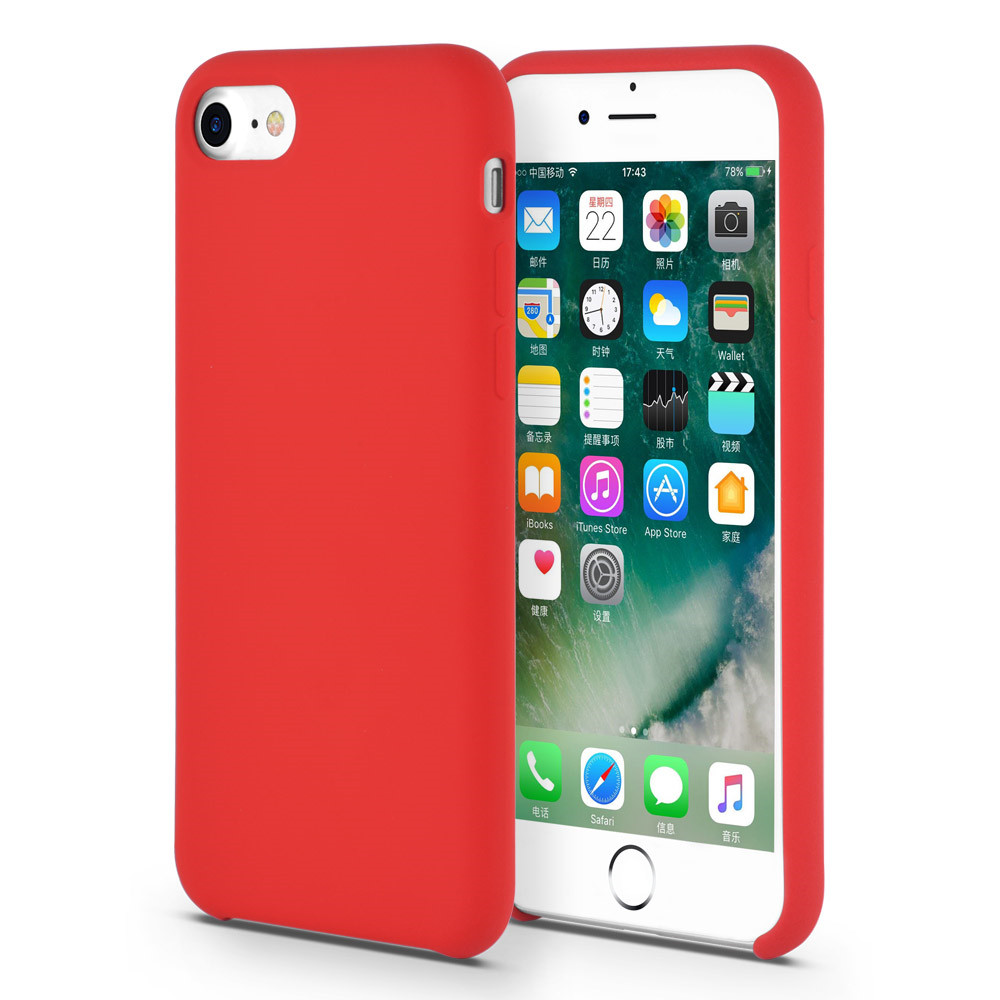 high quality liquid silicone rubber phone case for iPhone8