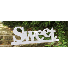 Customed Wooden English Letters Decoration Sign para el dormitorio