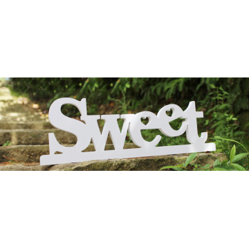 Customed Wooden English Letters Decoration Sign for Bedroom
