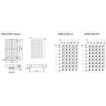 2,3 Zoll, 5,0 mm DOT (GNM-23581Cx-Dx)