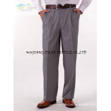 Elastische Twill Wollstoff, elastische Kammgarn 50 % Wolle 35 % polyester10 % rayon5 % Elasthan