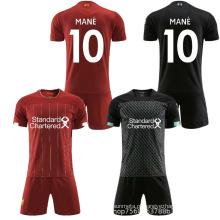 2019 camisa de futebol de sublimação personalizada