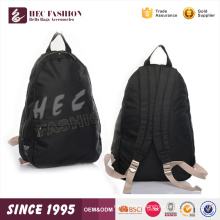 HEC 30.5*14*35cm Canvas Material Custom Kid School Small Shoulder Backpack Bag