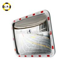 Trafic rectangulaire acrylique convexe et miroir concave