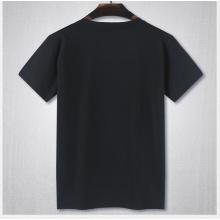 Hochwertige Plain Cotton No Brand Round Neck T-Shirt