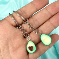 Cute Avocado Key Ring Used for Hanging Bag Accessories Chain Bag Pendant Jewelry various occasions Valentine's Day Birthday