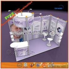 proyector portátil y modular exhibe stand de shanghai001428