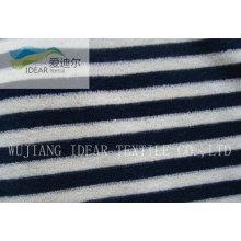 Gestrickten Streifen Handtuch Tuch für Waschlappen 008