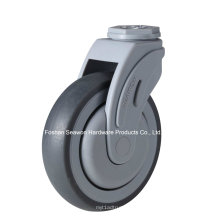 Bolt Hole Tipo Plastic Plastic TPR Caster
