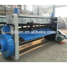 Q11-3x1500 barra de acero hidráulica de corte de la máquina