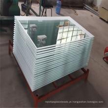 Fornecendo segurança temperado / impressão de porta de vidro para uso doméstico
