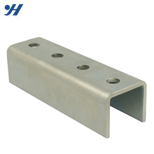 JIS Standard Cold Bending Roll Formed stainless steel profile, galvanized steel profile