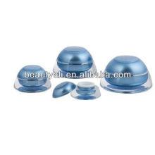 Tarro de acrílico transparente 5g frascos cosméticos de acrílico