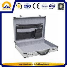 Novo Design ABS breve maleta com bolsos
