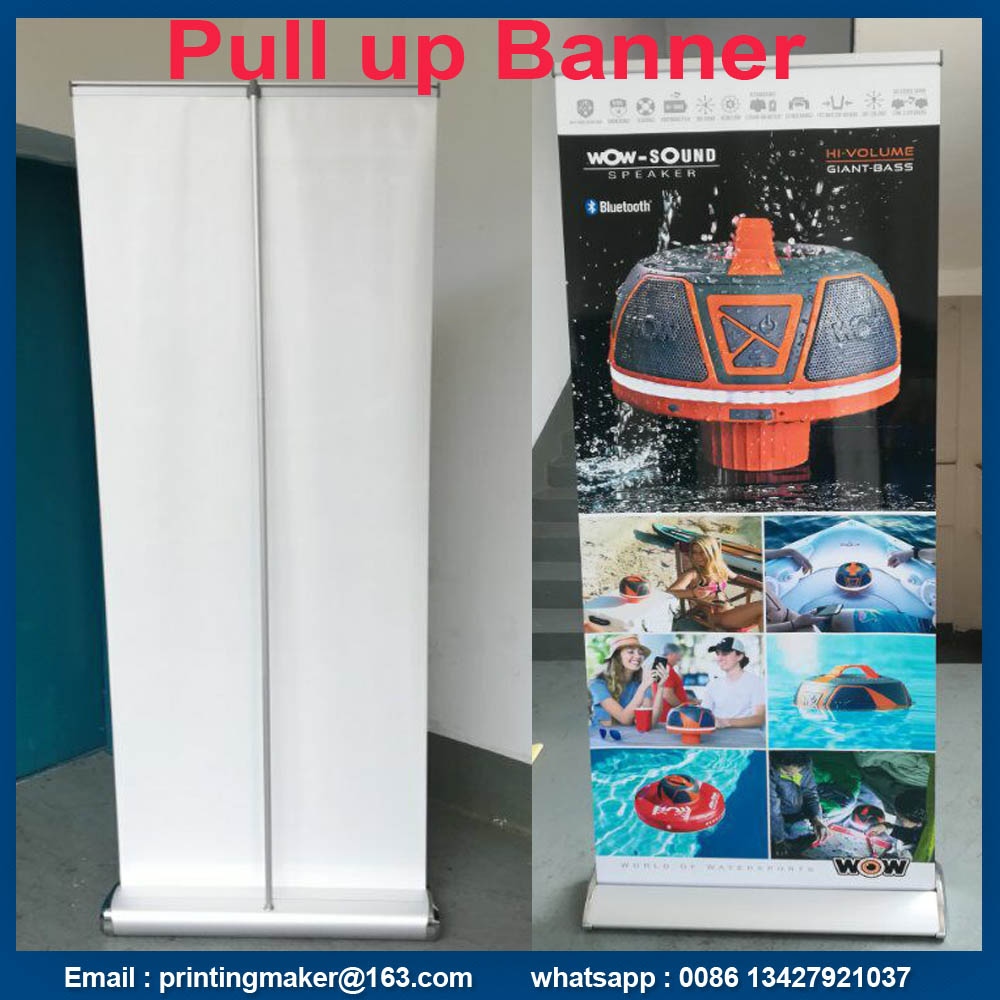 luxury roll up banner