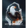 2015 hot sale Cheap crystal iceberg for decoration eagle crystal image