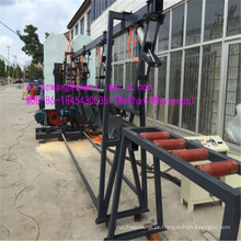 Máquina de serra de fita vertical dupla de madeira com forte praticidade