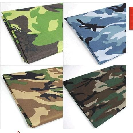 100% algodão impressão têxtil do exército de camuflagem