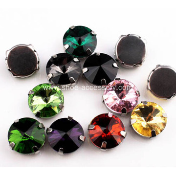 14mm Acrylic Sew-on Rhinestones