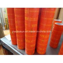 Ruban orange avec impression couleur imprimée vers Europen