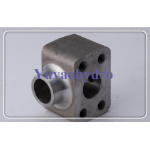 Steel Forged Code Port Block Customized Flange