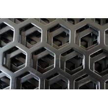 Feuille métallique perforée pour décoratif