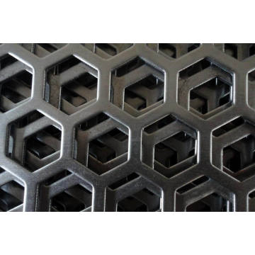 Galvanized Perforated Panel in 0.5mm to 5.0mm Thickness