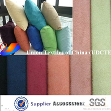 100% Polyester Suede Fabric for Bolster Cushion