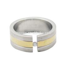 Venda al por mayor un anillo de compromiso de piedra CZ Stone