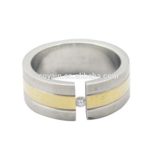 Vente en gros de bandes de mariage One CZ Stone Engagement Ring