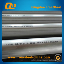 316L Ss Steel Pipe by ASTM A312