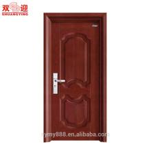 Aço inoxidável luxuoso da porta do projeto da porta da segurança do punho de porta do metal