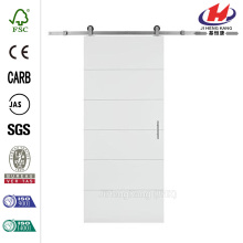 Solid Core Primed Composite Interior Barn Door Slab