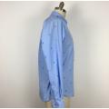 High Quality Cutting Flower polyester cotton Men Shirt