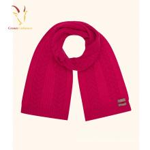 Fashion Scarf 2016 Merino laine Crochet tricot écharpe