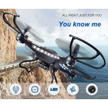 2015 Novedad Diseño 4 Ejes Fpv WiFi RC Drone con HD 2MP Cámara RC Aviones Juguete