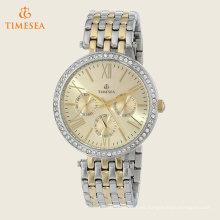 Logotipo personalizado de acero inoxidable relojes de pulsera con Diamonds71189