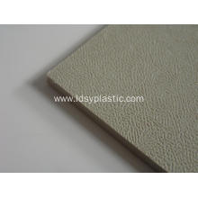 Customized for Grey Glossy Surface PP Rigid Sheet Grey Insulation Resistant PP Sheet supply to France Factory