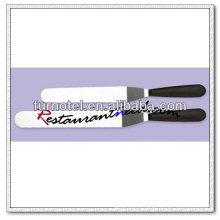 """V307 10"""" шпателем смещения с черной пластиковой ручкой"""