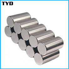 High Magnetic Performance Rare-Earth NdFeB Magnets with Cylinder Shape