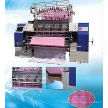 Hochgeschwindigkeitshuttle-Verschluss-Stich-multi Nadel-Steppdecke, die Maschine, Bettwäsche-Produktions-Maschinerie, Steppdecken-Herstellungs-Fabrik herstellt