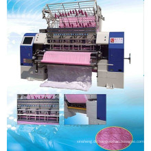 High-Speed Shuttle Steppstich Multi Nadel Quilt Geldmaschine, Bettwäsche-Produktionsmaschinen, Quilt Manufacturing Factory